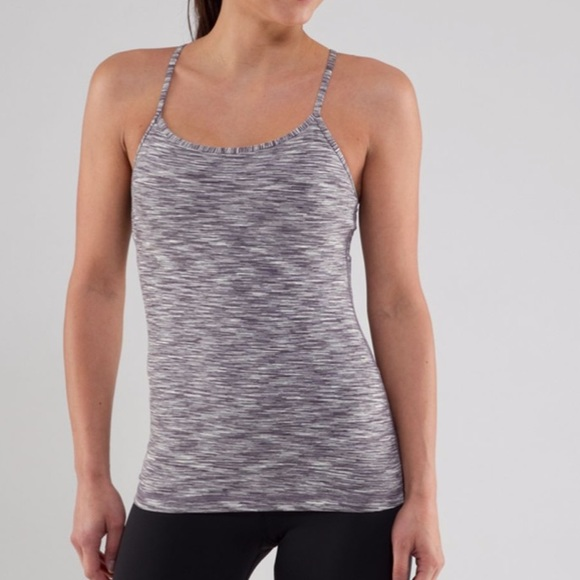 Lululemon power Y tank top magnum space dye